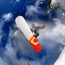 lądowanie na desce