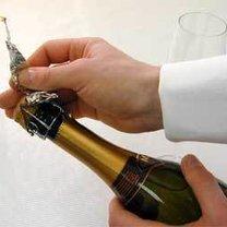 szampan, otwieranie szampana