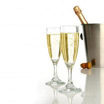 serwowanie szampana