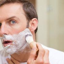 skaleczenie przy goleniu