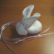 królik z ręcznika 7