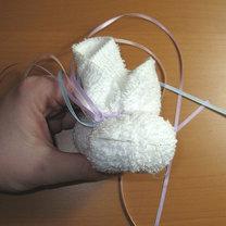 królik z ręcznika 9