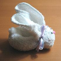 królik z ręcznika 10