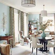 Niebieski pokój gościnny