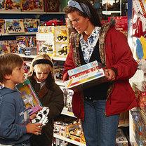 kupowanie zabawek