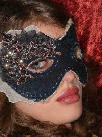 maska karnawałowa - instrukcja