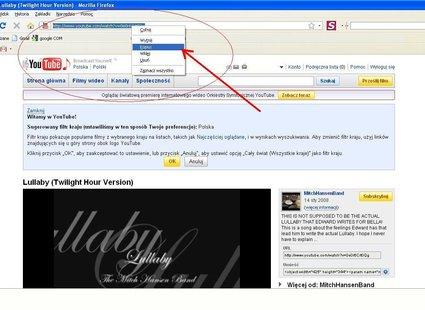 Skopiuj adres strony z filmem do ściągnięcia