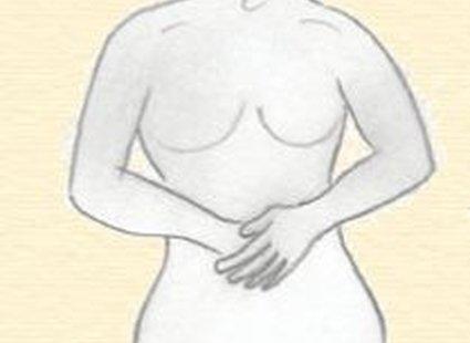 masaż brzucha