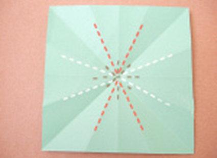 choinka origami 13