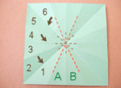choinka origami 15