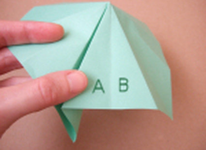choinka origami 16