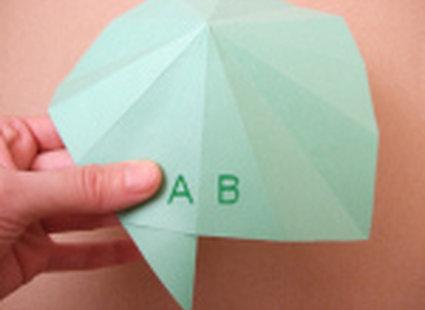 choinka origami 17