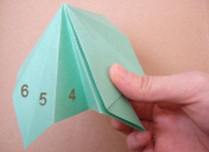 choinka origami 18