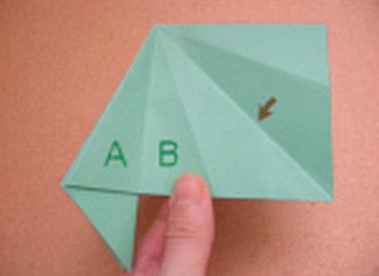 choinka origami 21