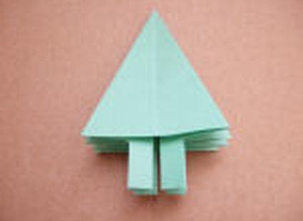 choinka origami 24