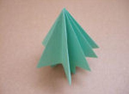 choinka origami 25