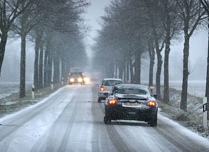 Jazda autem w zimie