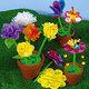 długopisy - kwiatki na dzień Matki