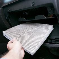 sposoby na parujące szyby w samochodzie - krok 1