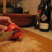 owoc granatu - krok 1