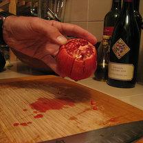 owoc granatu - krok 2