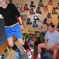 mierzenie butów narciarskich