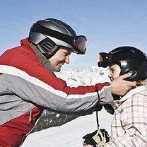 dobór kasku narciarskiego