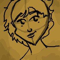 rysowanie twarzy postaci - krok 4.