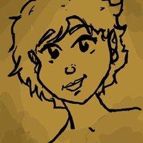 rysowanie twarzy postaci - krok 5.