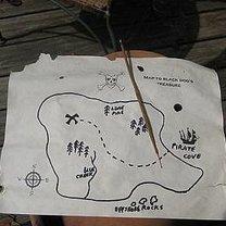 mapa skarbów - rysowanie mapy
