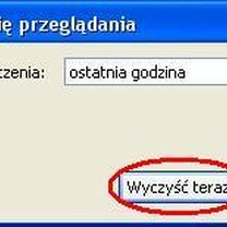 usuwanie historii przeglądania w Firefox