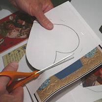 robienie walentynkowych dekoracji 2