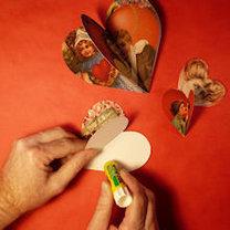 robienie walentynkowych dekoracji 3