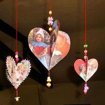 dekoracje walentynkowe lub bożonarodzeniowe