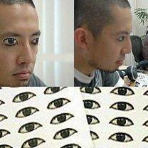 naklejki oczy
