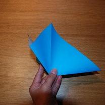 robienie lilii origami 2
