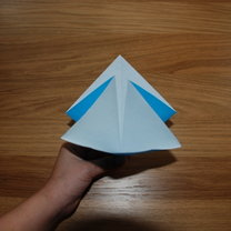 robienie lilii origami 3