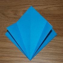robienie lilii origami 6