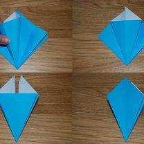 robienie lilii origami 7