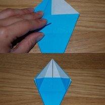 robienie lilii origami 9