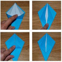 robienie lilii origami 10