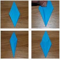 robienie lilii origami 11