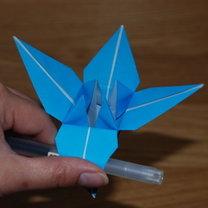 robienie lilii origami 13