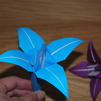 Lilia origami