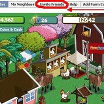 zapraszanie sąsiadów na FarmVille 1