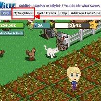 zapraszanie sąsiadów na FarmVille 3