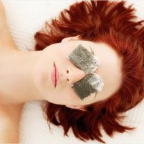 sposoby na opuchliznę oka - krok 3