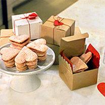 walentynkowe ciasteczka serduszka