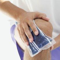 leczenie wody w kolanie - sposób 2