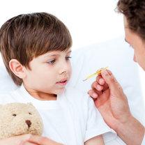gorączka u dziecka - krok 1